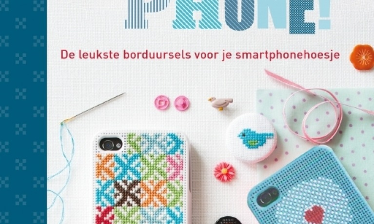 Style Your Phone - Borduurbare iPhone hoes