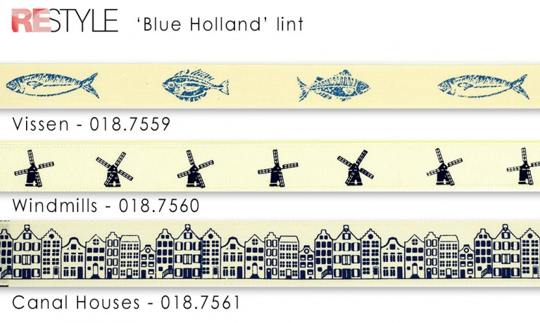 Blue Holland Lint