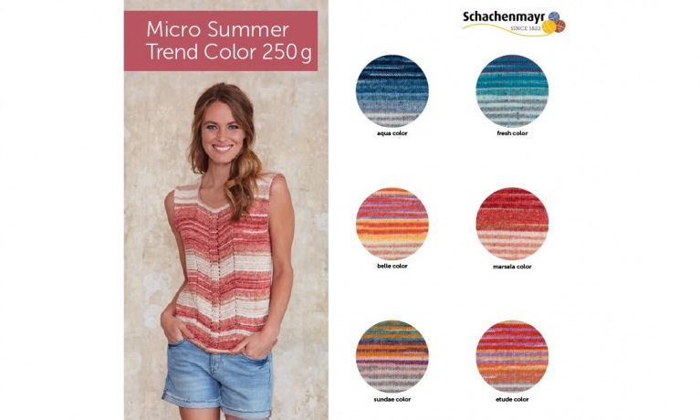 Schachenmayr Micro Summer Trend Color
