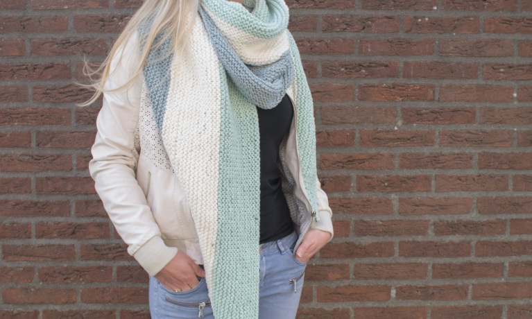 Omslagdoek met Durable Cosy en Glam