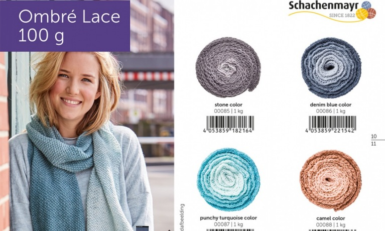 Schachenmayr ombre lace